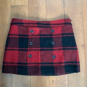 Gap Buffalo Plaid Skirt